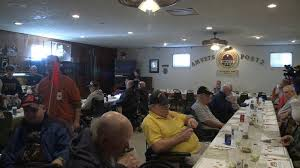 iowa veterans special thanksgiving meal whotv
