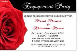 cu760 engagement invitation with engagement wedding
