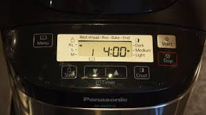 black friday bread machine panasonic sd zb2512 review our best buy bread maker expert reviews
