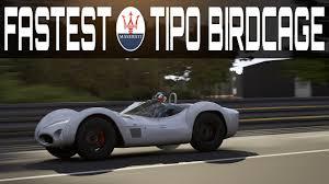 maserati birdcage tipo 61 forza 6 topspeed build 423km h 263mph maserati tipo 61