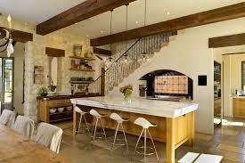 standard counter height kitchen mediterranean with black iron