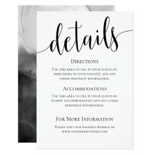 wedding invitations details card modern we do wedding details card wedding invitations cards
