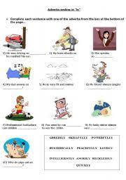 adverbs ending in