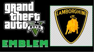 lamborghini logo grand theft auto 5 gta 5 gta v lamborghini logo emblem