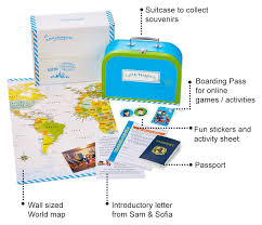 explorer kits for kids geography subscriptions for kids