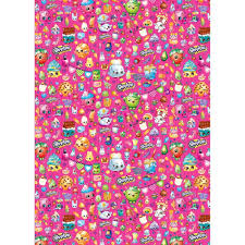 shopkins gift wrapping paper and gift bags ebay