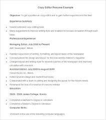 Editor Resume Sample by Advertising Resume Template U2013 16 Free Samples Examples Format