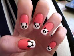 nail art palm treeails super cute halloweenail art designs and