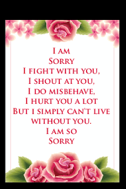 sorry cards make sorry greeting card online india printland