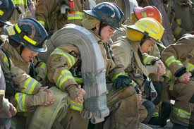 Firefighters Stair Climb by Austin Fire Department 911 Tribute Memorial And Stair Climb