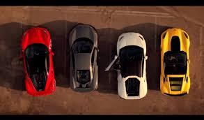 corvette vs lamborghini fastest supercar corvette z06 vs mclaren 675lt vs 488 gtb