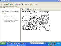 nissan pathfinder oil change 1994 nissan pathfinder 4x4 the easiest way to change starter lift