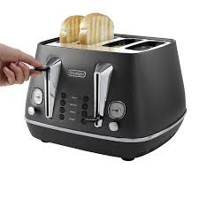 Delonghi Vintage Cream Toaster De Longhi Toaster Argento 2slice Toaster Polished Steel Before