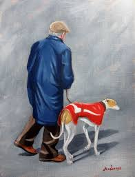 38 best greyhound paintings by steve sanderson images on pinterest