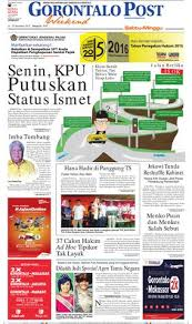 sabtu 14 nopember 2015 by gorontalo post issuu