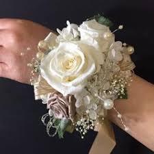 wrist corsage bracelet wrist corsage wc01 rgb ivory beige gold bracelet