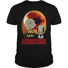 snoopy charlie brown eclipse shirt