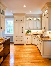 Upper Kitchen Cabinets Is The Glass In The Upper Cabinets Clear Or Is It Frosted Some