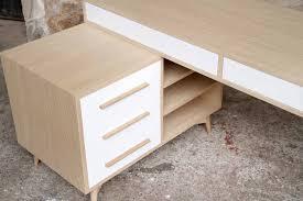 caisson à tiroir bureau bureau à caisson et tiroirs fabrication artisanale for me lab