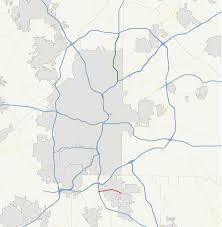 Hartsfield Jackson Map Georgia State Route 331 Wikipedia