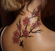 53 beautiful cherry blossoms shoulder tattoos