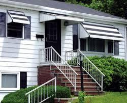 Fabric Window Awnings Retractable Door Awning U0026 6ft Drop Arm Manual Retractable Door