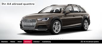 audi a4 allroad quattro now available to order in germany