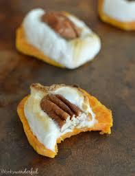 sweet potato casserole bites wonkywonderful