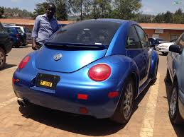 beetle volkswagen blue used volkswagen hatchback 1999 new beetle blue rwanda carmart