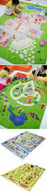 fabulous three dimensional rug for the playroom with built in