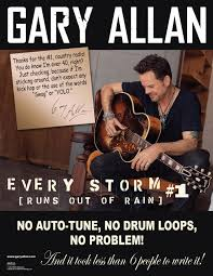 Allan Meme - farce the music gary allan thanks country radio for his 1 song