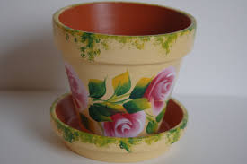 How To Decorate A Pot At Home Pots Flower Pot Decoration Designs Pictures Home Pot Flower Pot