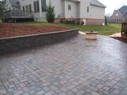Lowes Patio Pavers Designs Backyard Paver Patio Pictures Small Paver Patio Designs Concrete