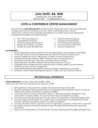 hospitality resume exle hospitality manager resume sle krida info