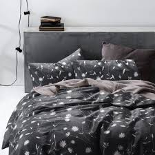 Queen Size White Duvet Cover Elegant Black And White Bedroom Ideas Luxcomfybedding