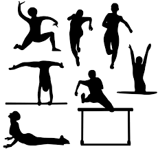 free silhouette images silhouettes free stock photo illustration of athletes and