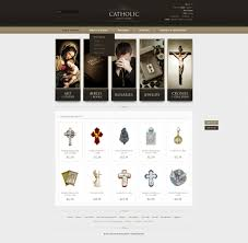 catholic gifts store website template 39886 catholic gifts store custom website
