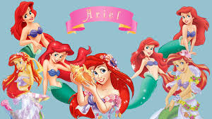 disney princess ariel characters hd wallpaper cartoon