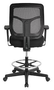 amazon com eurotech apollo mesh drafting chair 23 2 32 7 inch