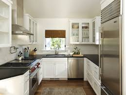 ideas for narrow kitchens kitchen design a small kitchen with spacious feel design for