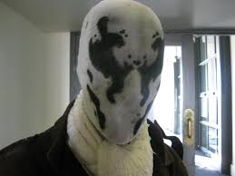 Rorschach Halloween Costume Wear Moving Rorschach Mask Attraction Party