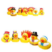 thanksgiving in different countries amazon com fun express rubber duckie ducky thanksgiving ducks
