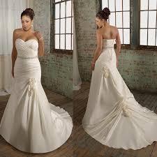 plus size wedding dresses mermaid style