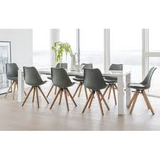 8 Chairs Dining Set 8 Seater Dining Table Sets Wayfair Co Uk