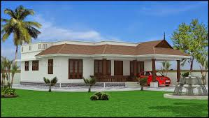 best single story house plans kerala