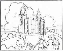 temple coloring page temple coloring page lds lesson ideas intended for lds temple