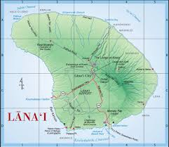 Garden Of The Gods Map Maps Of Lanai Island