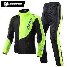 motorcycle racing jacket 2018 motorcycle racing raincoat set men outdoor waterproof