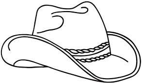 cowboy hat coloring pictures coloring pages ideas
