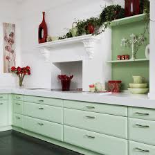 Red Kitchen White Cabinets Color Combo Mint Green U0026 Apple Spice Red Mint Green Kitchen